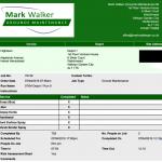 Mark Walker Grounds Maintenance POD Report